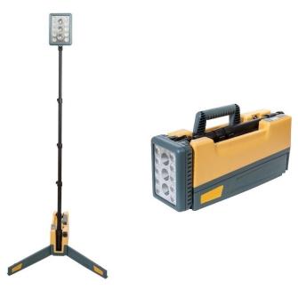 NightSearcher Solaris Pro-X portabler LED Flutstrahler / IP65 / max. 16'000 Lumen
