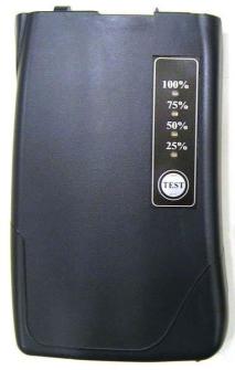 998996 AIRBUS / POLYCOM / TETRAPOL / EADS / Funkakku mit LED Kapazitätsanzeige zu MC9620 G2