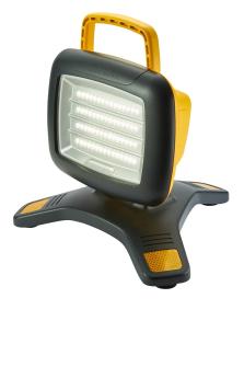 999129 NightSearcher Galaxy Pro portabler LED Flutstrahler / IP54 / max. 3'500 Lumen