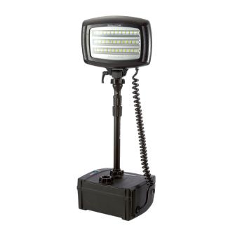NightSearcher Solaris Lite portabler LED Flutstrahler / IP65 / max. 20'000 Lumen