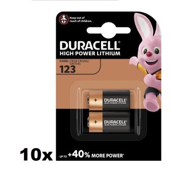 DURACELL Ultra CR123A 3V Photo Lithium