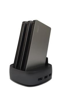 991021 POWERSTATION Desktop mit 3 Powerbanks 8000mAh