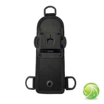 AKKUPOINT Adaptateur plat pour sangle fixation 3-points / clip rotatif / pour housse TPH700