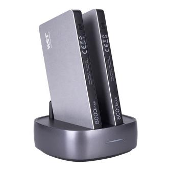 991060 POWERSTATION Desktop mit 2 Powerbanks 8000mAh