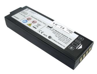 991061 CU MEDICAL Medizinakku zu Defibrillator AED I-PAD NF1200 / Typ CUSA0601F / ORIGINAL