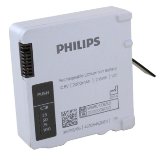 PHILIPS Batterie médicale 989803196521 pour Intellivue X3 Monitor / ORIGINAL