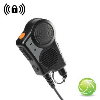 AIRBUS / POLYCOM / TETRAPOL / EADS / AKKUPOINT Handmonofon TPH700 mit WIRELESS Empfänger / IP67 / CE