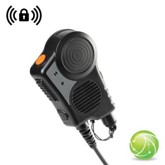 AIRBUS / POLYCOM / TETRAPOL / EADS / AKKUPOINT TPH900 Handmonofon mit WIRELESS Empfänger / IP67 / CE