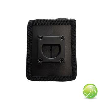 AKKUPOINT Adaptateur plat petit / système Molle en textile / clip demi-lune
