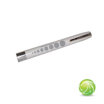 AKKUPOINT DIAGNOSTICLIGHT Zertifizierte Pupillenleuchte  LED WARM-WEISS mit Clip / MDR / EN 62471
