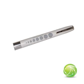 AKKUPOINT DIAGNOSTICLIGHT Zertifizierte Pupillenleuchte LED WEISS mit Clip / MDR / EN 62471