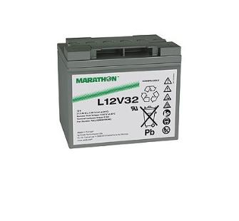 991145 EXIDE MARATHON (AGM) L12V32 12V 32Ah Pb