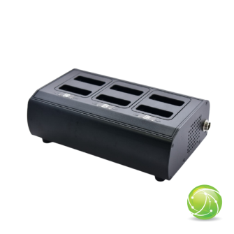 AIRBUS / POLYCOM / TETRAPOL / EADS / AKKUPOINT Charging station multi slot for TPH900 / 6 Batteries