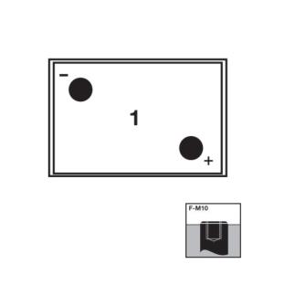 EXIDE SONNENSCHEIN Gel Traction GF 06 180 V 6V Q 180Ah (5h) Pb