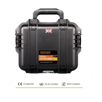 POWERBOX 24V 20Ah LiFePO4 Peli™ Case Kit / IP67