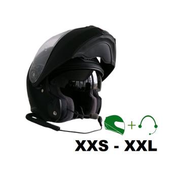 SHOEI Neotec II Motorcycle flip-up helmet P/J homologated with CT headset / BLACK matt / M