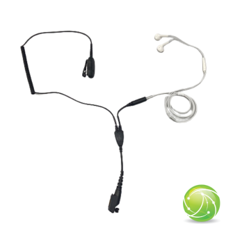 AKKUPOINT HEADSET for concealed carry EarPods / white / for TPH900
