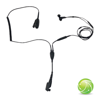 AKKUPOINT HEADSET for concealed carry EarPods / black / for TPH900