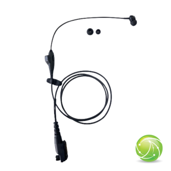 AKKUPOINT HEADSET Concealed carry for EarPod with PTT and microphone for TPH900