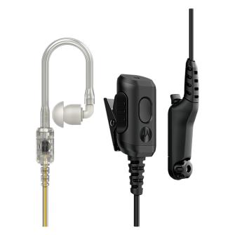 MOTOROLA PMLN8083 Ecouteurs avec audio IMPRES / microphone en ligne et ligne PTT séparée / ORIGINAL