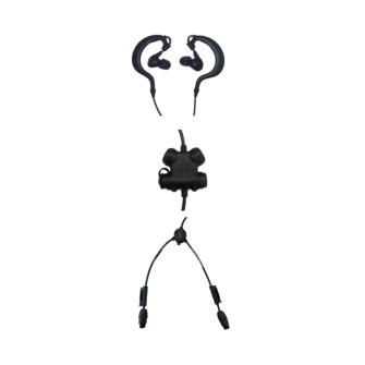 SILYNX CLARUS Protection auditive active Starter Set In-Ear / noir / 2 ports COM