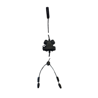 SILYNX CLARUS protection auditive active starter set Peltor / noir / 2 ports COM