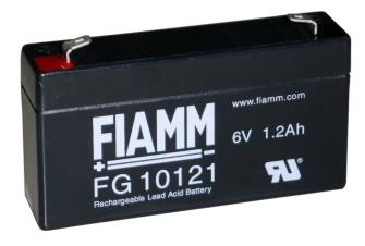 998072 FIAMM FG10121 6V 1.2Ah Pb