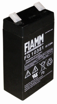 998074 FIAMM FG10381 6V 3.8Ah Pb