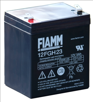 FIAMM 12FGH23 12V 5Ah Pb