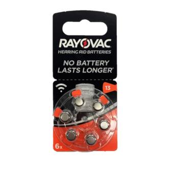 RAYOVAC hearing aid batteries V13 1.45V Zinc-air
