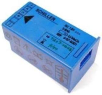 998287 SCHILLER Medizinakku zu Fred Easy Defibrillator / ORIGINAL