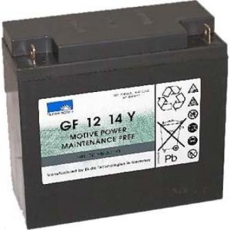 998619 EXIDE SONNENSCHEIN Gel Cyclic GF 12 014 Y F / 12V 14Ah (5h) Pb