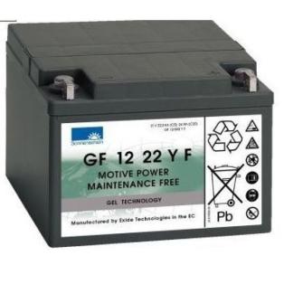EXIDE SONNENSCHEIN Gel Cyclic GF 12 022 Y F / 12V 22.2Ah (5h) Pb