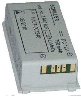 998785 SCHILLER Medizinakku zu Fred Easyport Defibrillator / ORIGINAL