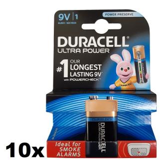 DURACELL Ultra Power 9V (MN1604/6LR61) Alkaline