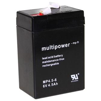 998953 MULTIPOWER MP4,5-6 6V 4.5Ah Pb
