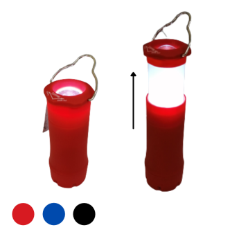 Taschenlampe 2 in 1 fokussierbar