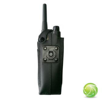 AKKUPOINT Housse cuir / clip contact pro / pour EADS TPH700