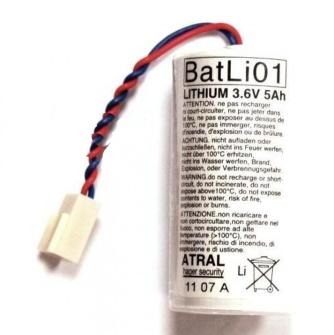 999039 ATRAL Lithium Batterie BatLi01 3.6V 5Ah Lithium ORIGINAL