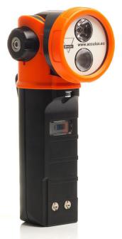 999048 ACCULUX HL25EX Knickkopf LED Handleuchte / IP 67 / ATEX / 170 Lumen