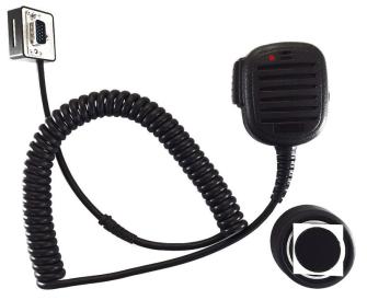 999217 AIRBUS / POLYCOM / TETRAPOL / EADS / Handmonofon mit roter LED und Magnet-Halter zu TPM700