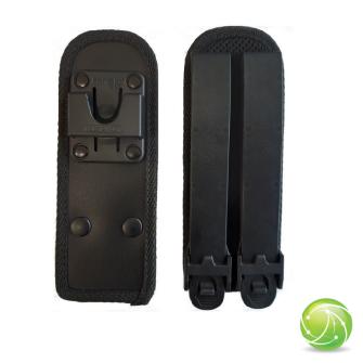 AKKUPOINT Adaptateur plat / système Molle / clip contact pro