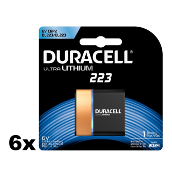 DURACELL Ultra 223 (CRP2) 6V Lithium