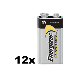 ENERGIZER INDUSTRIAL E-Block 6LR61 9V Alkaline
