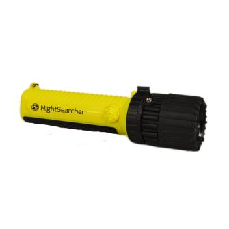 NightSearcher ZOOM ATEX LED Handleuchte / EX / CE / IP67 / 60-160 Lumen
