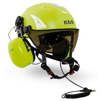 999584 KASK Schutzhelm Helitalk / inkl. Peltor Headset / Nexusstecker / EN12492