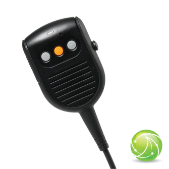 AIRBUS / POLYCOM / TETRAPOL / EADS / AKKUPOINT Handmonofon zu TPH900 / Blue LED on/off