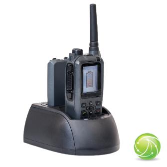AIRBUS / POLYCOM / TETRAPOL / EADS / AKKUPOINT Ladegerät zu TPH900 / mit Resetfunktion