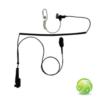"""AKKUPOINT Headset """"lock type"""", 2 cable separate from connector / 1 spiral cable"""
