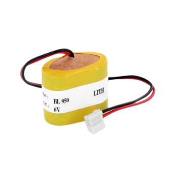Battery lithium for alarm system / BL950 / 6V 950mAh